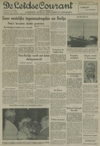 Leidse Courant 1961-08-18