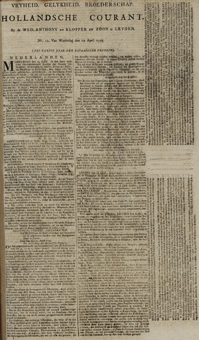 Leydse Courant 1795-04-29