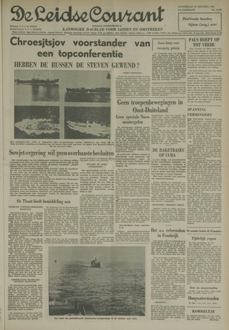 Leidse Courant 1962-10-25