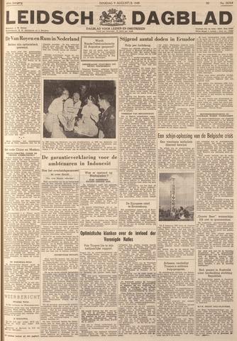 Leidsch Dagblad 1949-08-09