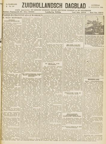 Zuidhollandsch Dagblad 1944-08-19
