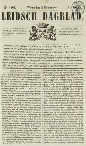 Leidsch Dagblad 1863-12-02