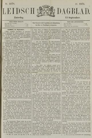 Leidsch Dagblad 1873-09-13