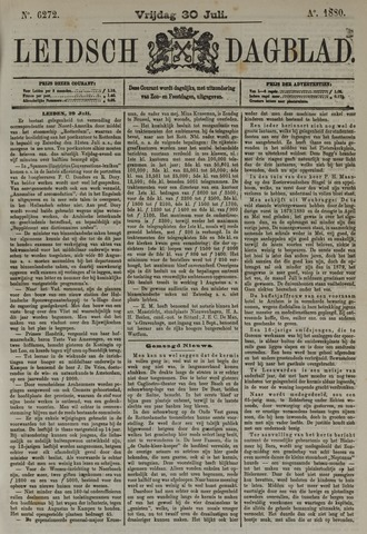 Leidsch Dagblad 1880-07-30