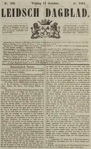 Leidsch Dagblad 1861-10-11