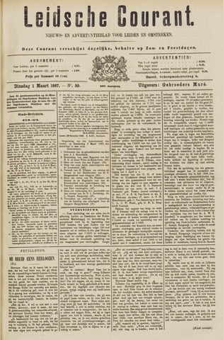 Leydse Courant 1887-03-01