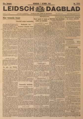 Leidsch Dagblad 1942-10-07