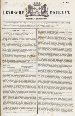 Leydse Courant 1869-09-23