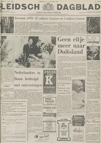 Leidsch Dagblad 1970-12-24