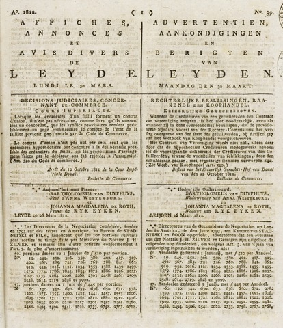 Leydse Courant 1812-03-30