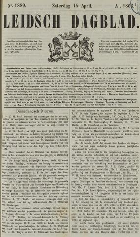 Leidsch Dagblad 1866-04-14