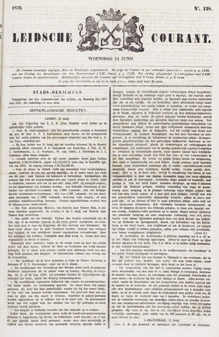 Leydse Courant 1876-06-14