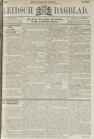 Leidsch Dagblad 1892-04-16