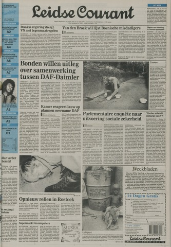 Leidse Courant 1992-08-27