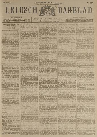 Leidsch Dagblad 1907-11-28