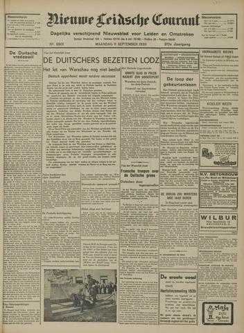 Nieuwe Leidsche Courant 1939-09-11
