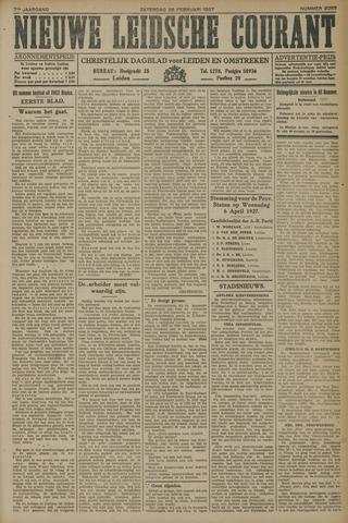 Nieuwe Leidsche Courant 1927-02-26