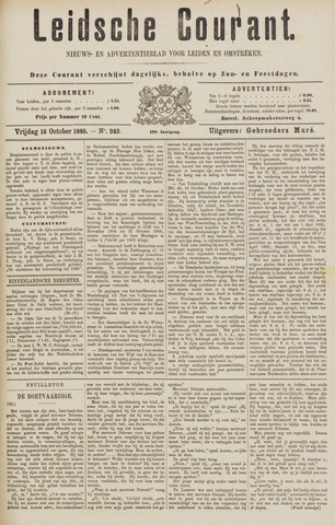 Leydse Courant 1885-10-16