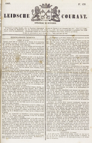 Leydse Courant 1869-10-26