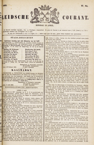 Leydse Courant 1883-04-10