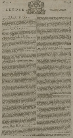 Leydse Courant 1739-11-13