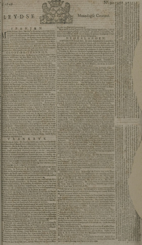 Leydse Courant 1749-07-28