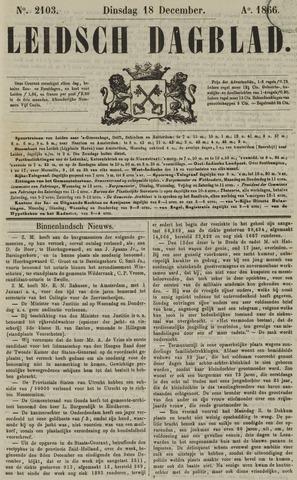 Leidsch Dagblad 1866-12-18