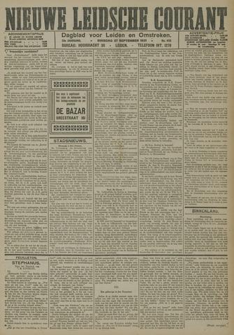 Nieuwe Leidsche Courant 1921-09-27