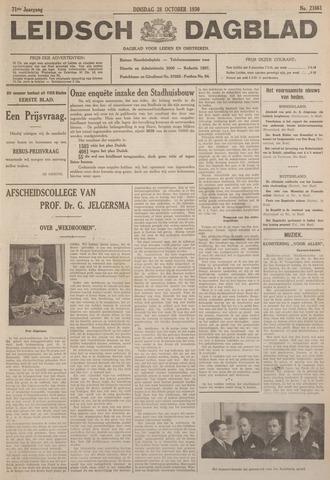 Leidsch Dagblad 1930-10-28