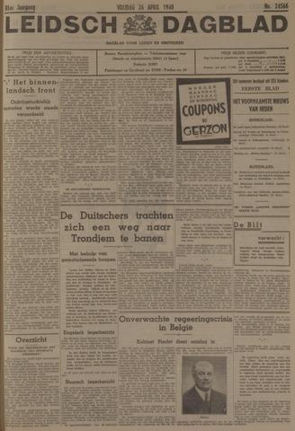 Leidsch Dagblad 1940-04-26