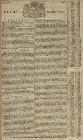 Leydse Courant 1760-01-21