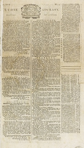 Leydse Courant 1819-01-04