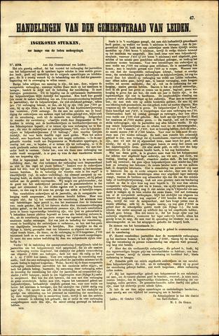 Handelingen van de Raad 1873-10-21