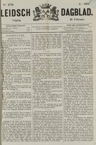 Leidsch Dagblad 1869-02-26