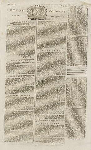 Leydse Courant 1818-01-23