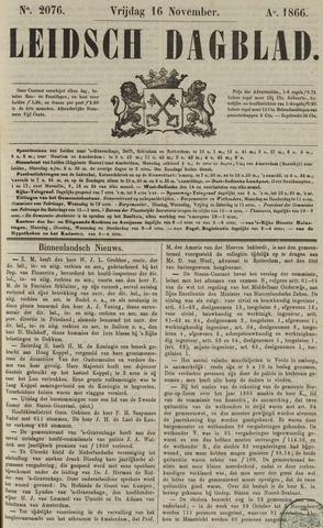 Leidsch Dagblad 1866-11-16