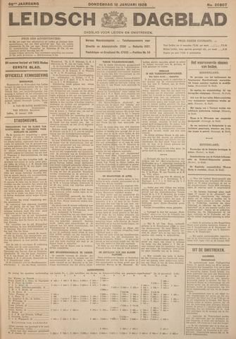 Leidsch Dagblad 1928-01-12