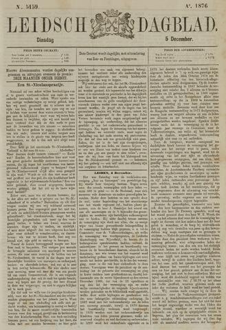 Leidsch Dagblad 1876-12-05