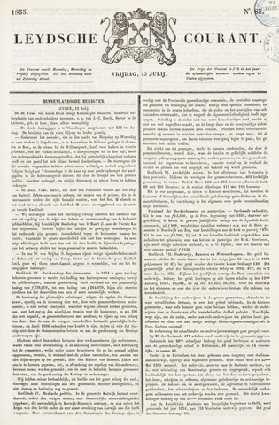 Leydse Courant 1855-07-13
