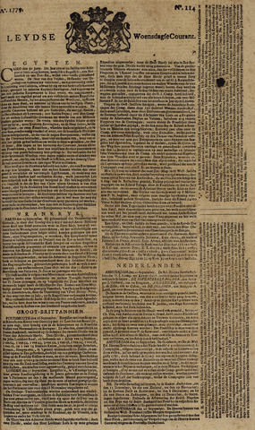 Leydse Courant 1779-09-22