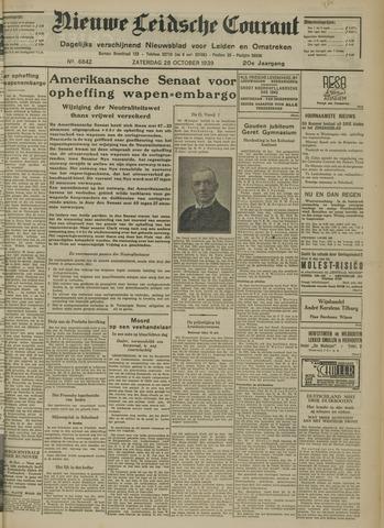 Nieuwe Leidsche Courant 1939-10-28