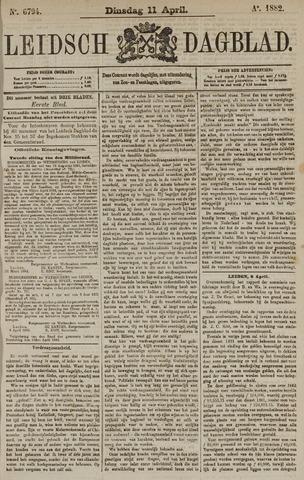 Leidsch Dagblad 1882-04-11