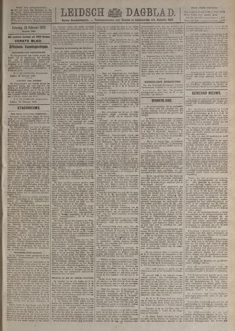 Leidsch Dagblad 1920-02-28