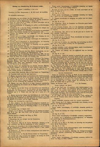 Handelingen van de Raad 1889-02-28