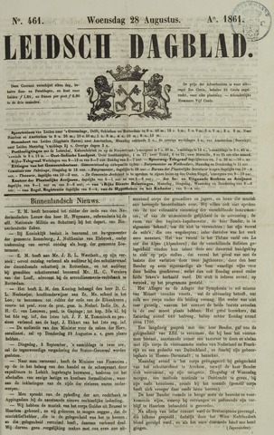 Leidsch Dagblad 1861-08-28