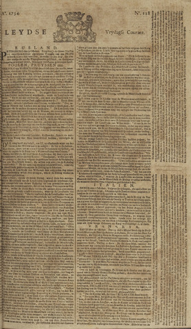 Leydse Courant 1754-10-25