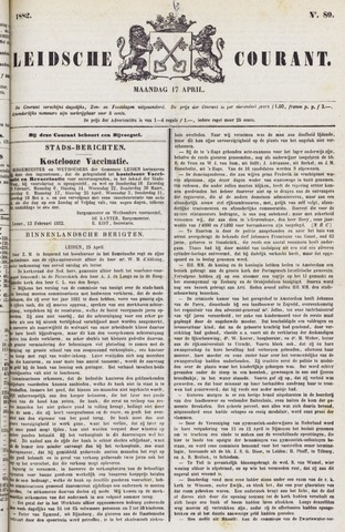 Leydse Courant 1882-04-17