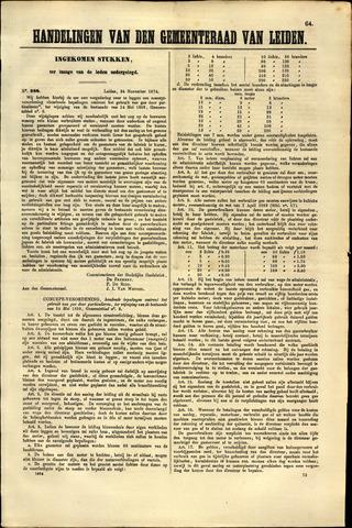 Handelingen van de Raad 1874-11-24