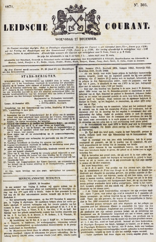 Leydse Courant 1871-12-27