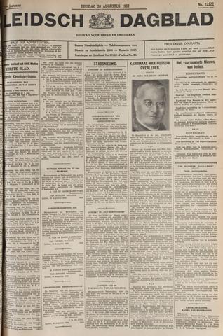 Leidsch Dagblad 1932-08-30